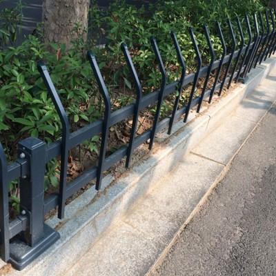 草坪護欄生產廠家/新農村綠化帶圍欄多少錢一米/小區園林欄桿