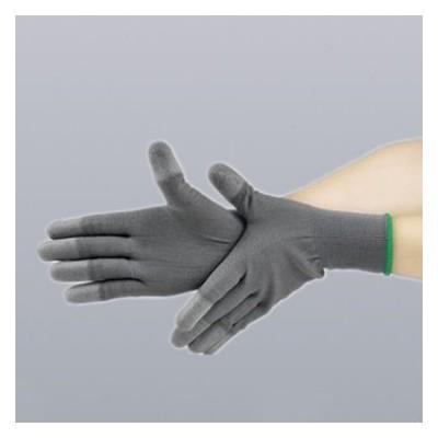 防靜電手套灰色手套勞保pu尼龍浸涂指涂層紗線薄款防滑耐臟透氣