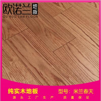 进口18mm纯实木地板环保耐磨防变形欧式风格橡木地板