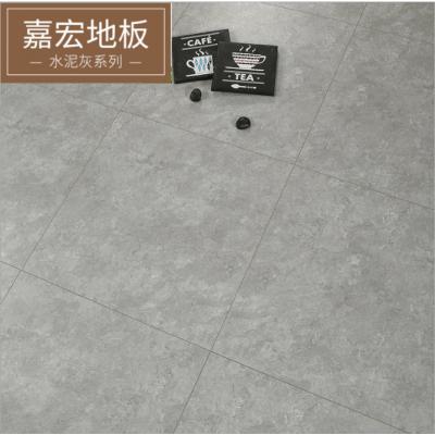 水泥紋地板個性復古灰色木地板12MM