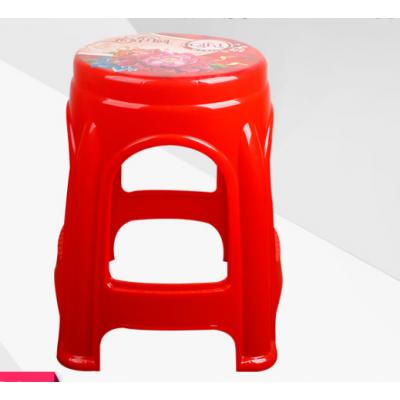 8325貼花圓登加厚塑料高凳