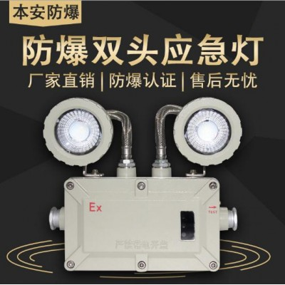 LED防爆雙頭應急燈