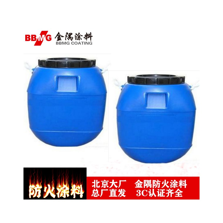 北京金隅牌STI-C室外厚型鋼結構防火涂料專用膠水