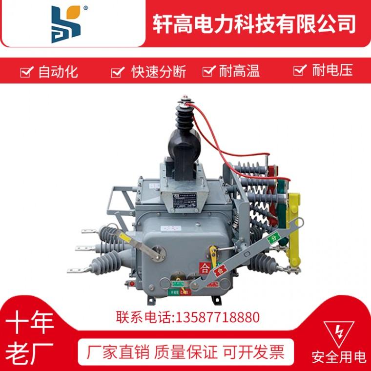 戶外高壓真空斷路器ZW20-12F  630-20 鐵殼斷路
