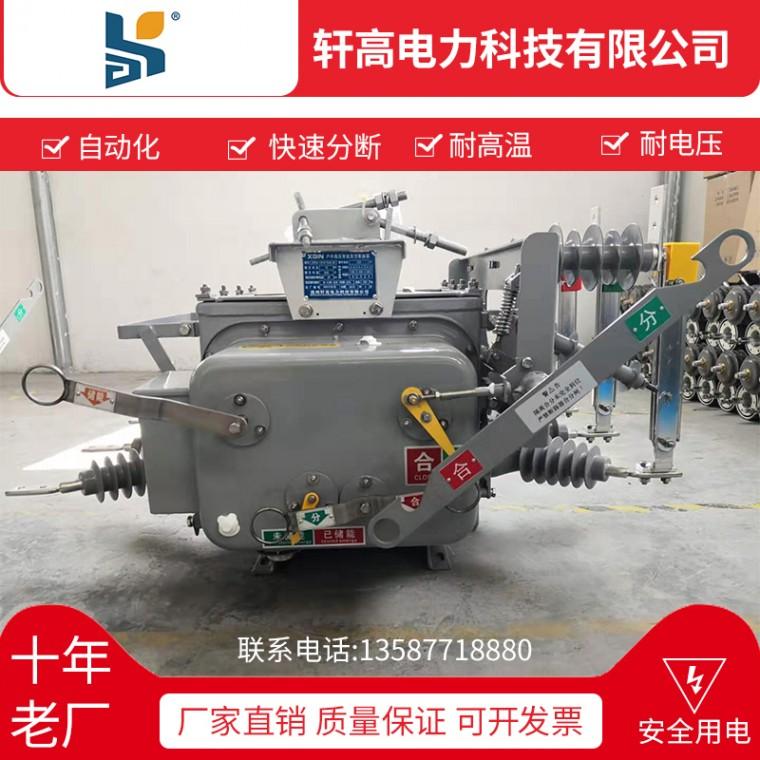 直銷高壓真空斷路器ZW20-12F 630-20鐵殼斷路器