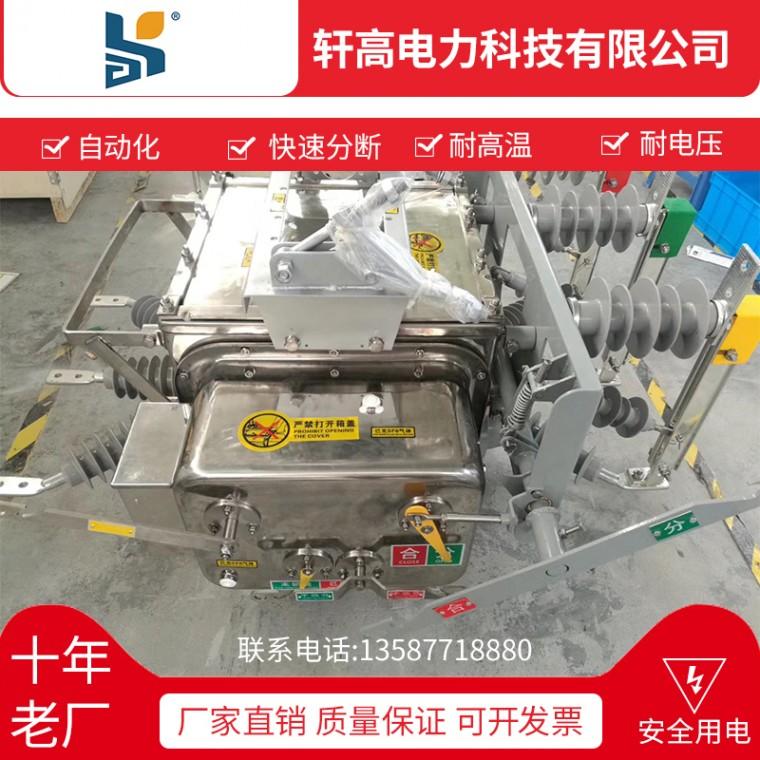 直銷不銹鋼鐵殼高壓真空斷路器ZW20-12FG 630-20