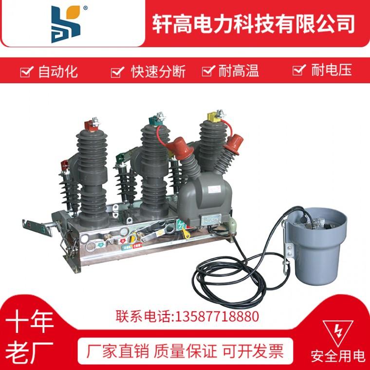 戶外高壓智能真空斷路器ZW32-12F-630 12KV