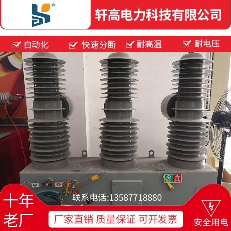 高壓真空斷路器ZW32-12G 24G  ZW32-40.5