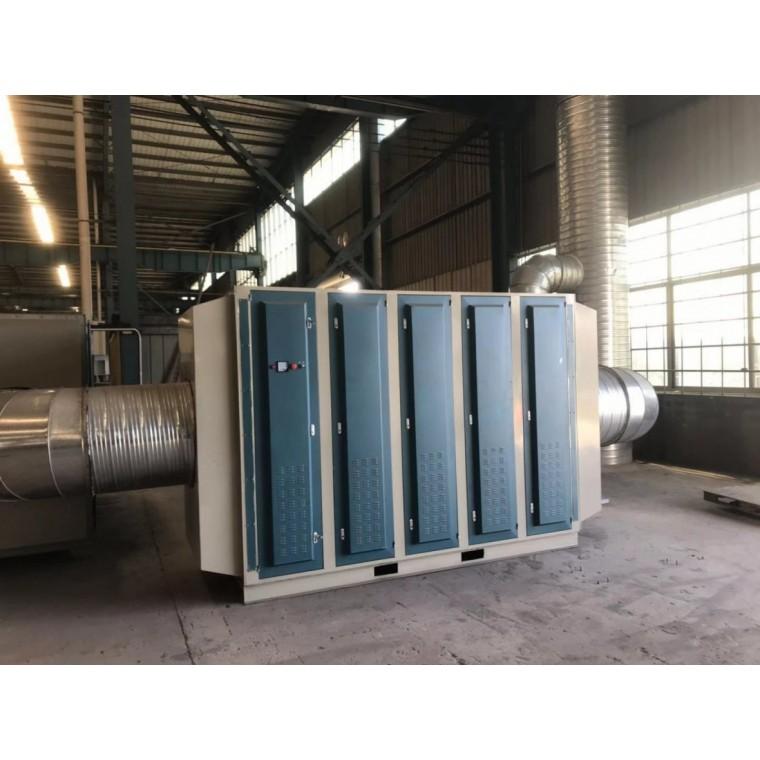 喷漆房全自动伸缩房 废气处理光氧催化一体机各行业应用