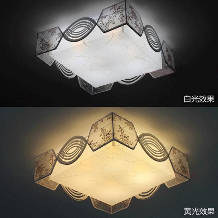 布藝田園絲線燈