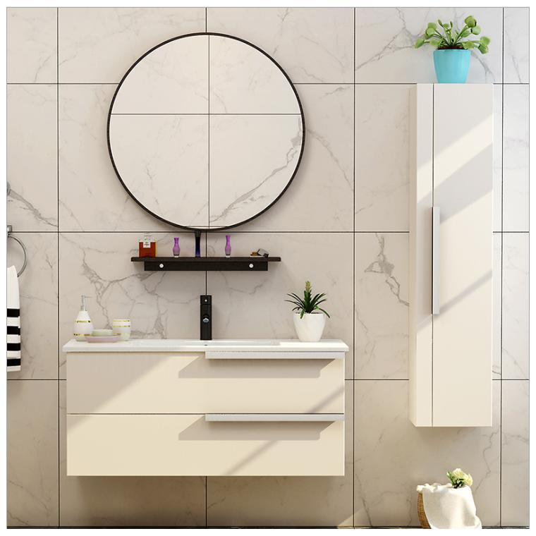 廠家直銷免漆浴室柜組合實木吊柜