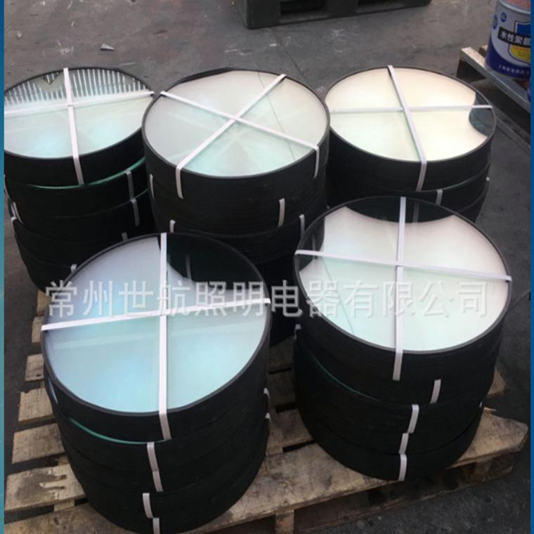 廠家直銷鋼化玻璃工礦燈燈罩