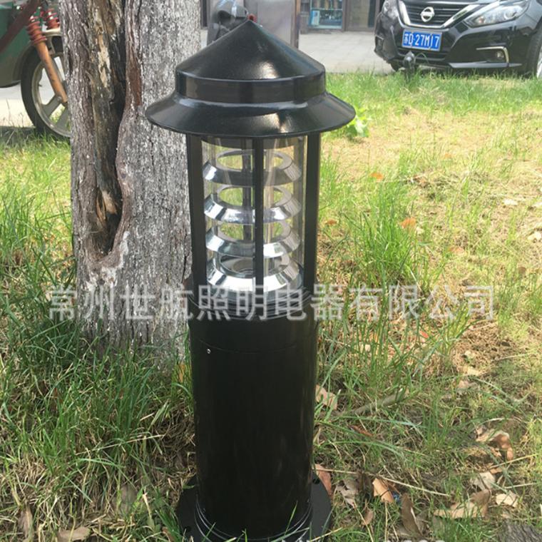 專業批發公園草坪燈太陽能柱頭燈led庭院燈