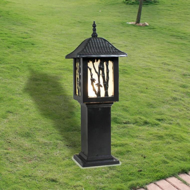 中式方形庭院燈