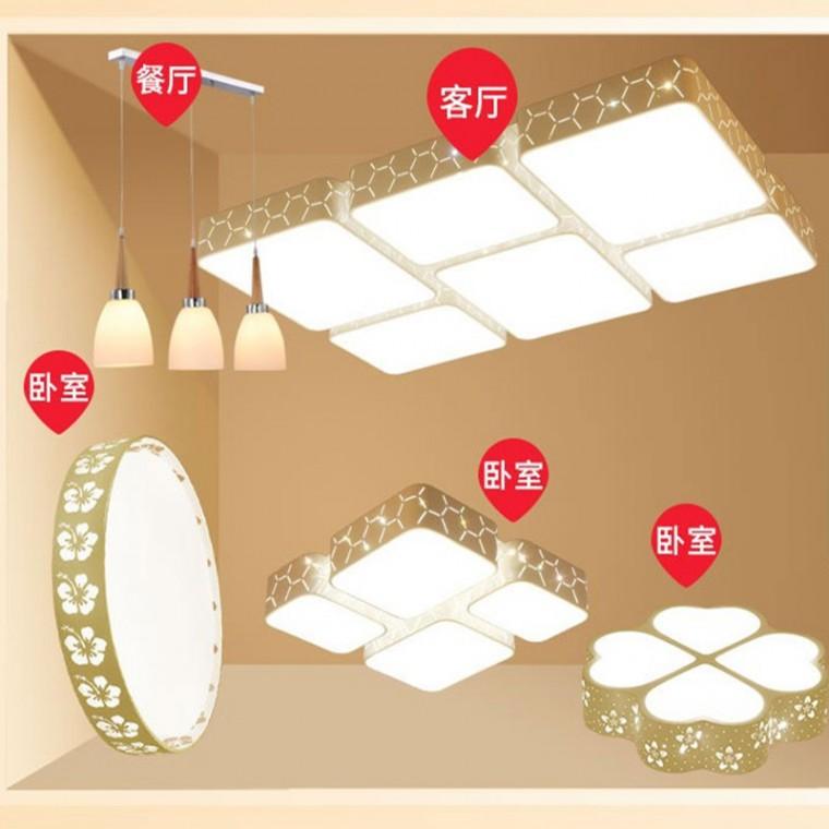 LED吸顶灯具套餐组合
