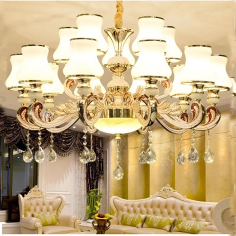 歐式LED客廳吊燈