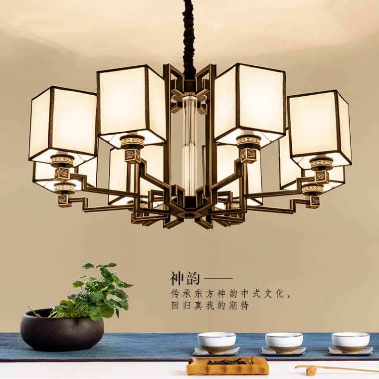 中式吊燈LED吊燈