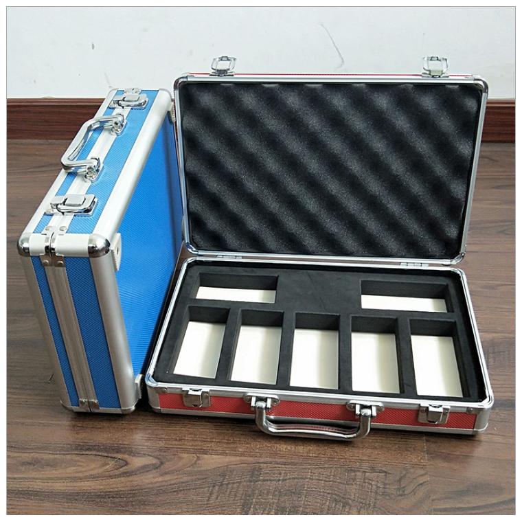 定制铝合金工具箱多功能手提防水收纳箱