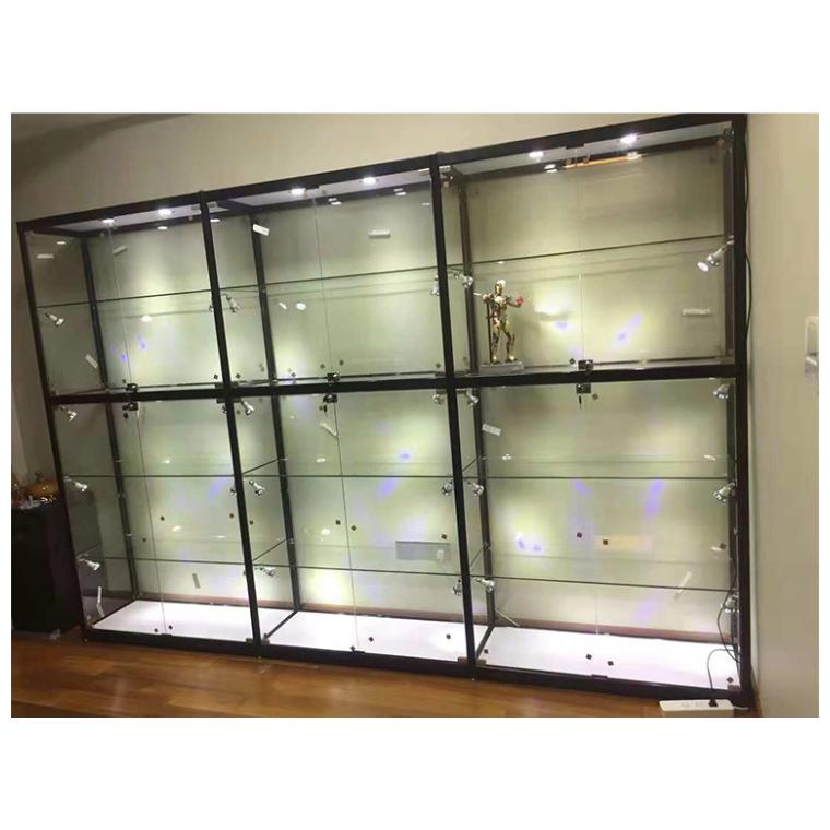 廠家直銷鈦合金展柜 公司樣品展示柜