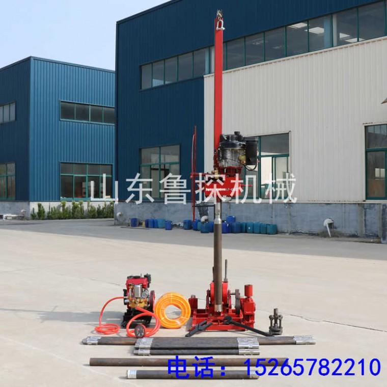 QZ-3可拆解的地質勘探鉆機 便攜式50米取樣巖芯鉆機