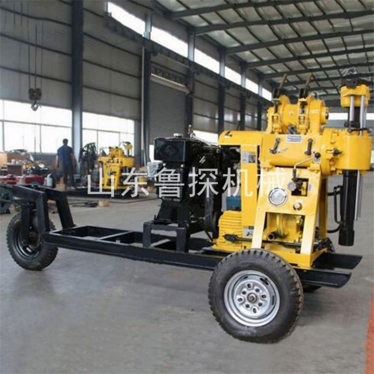 HZ-130YY百米液壓勘探鉆機 可移機全液壓工程地質鉆機
