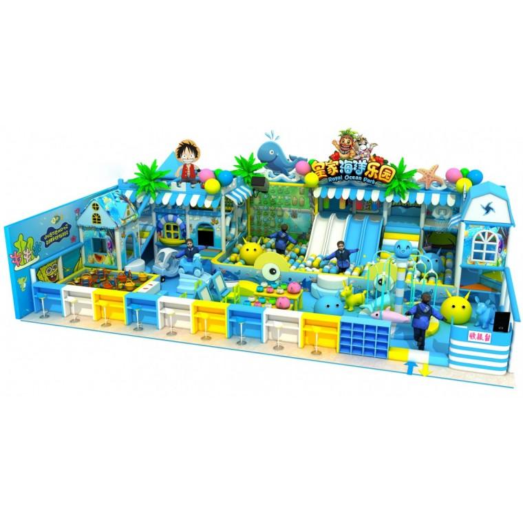 大型蹦床公園粘粘樂超級蹦床游樂園淘氣堡兒童樂園游樂設備跳跳床