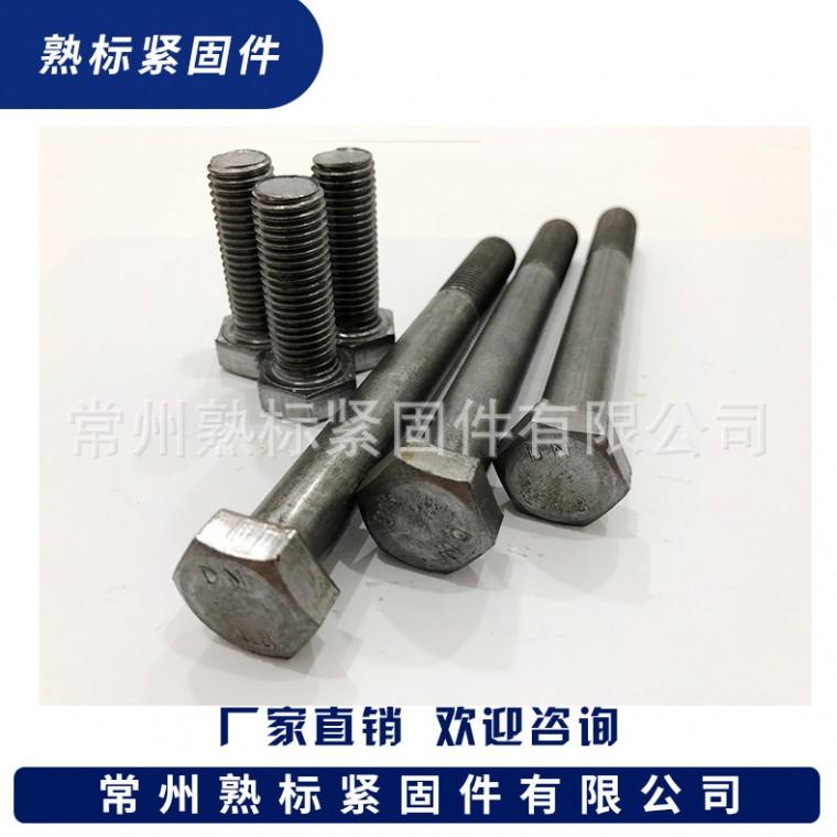 4.8級平腦外六角螺栓