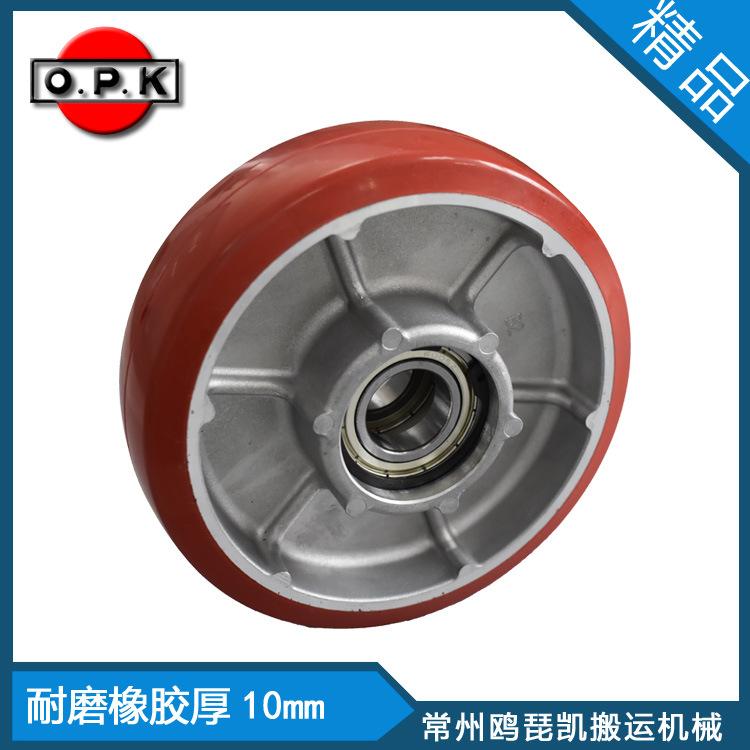 橡胶车轮150×45