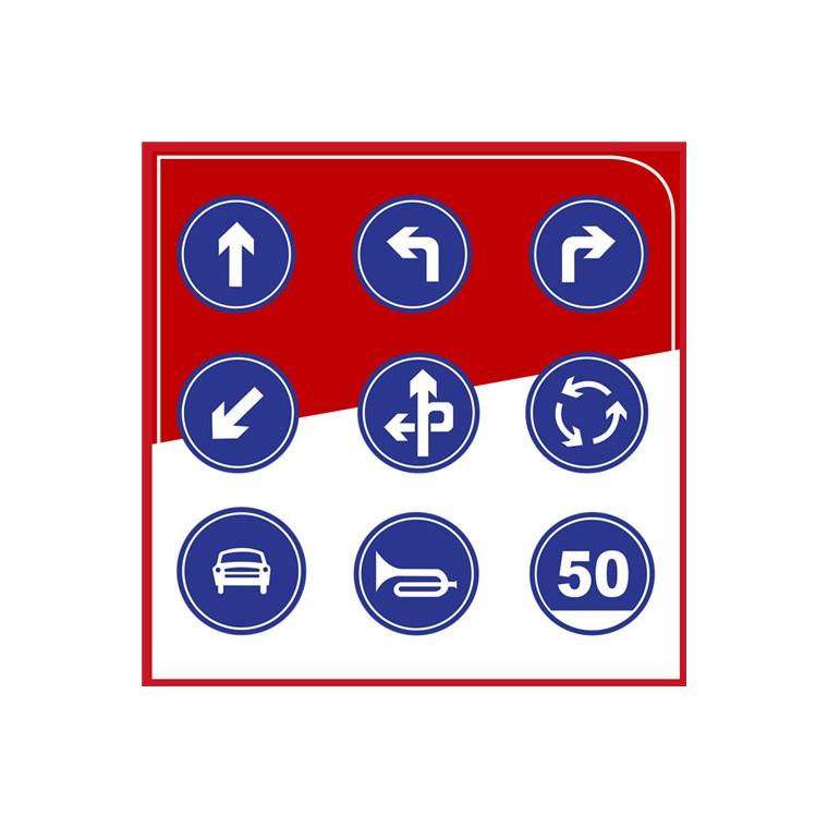 廠家直銷 粵盾交通圓形標識牌反光牌可定制告示牌警示牌