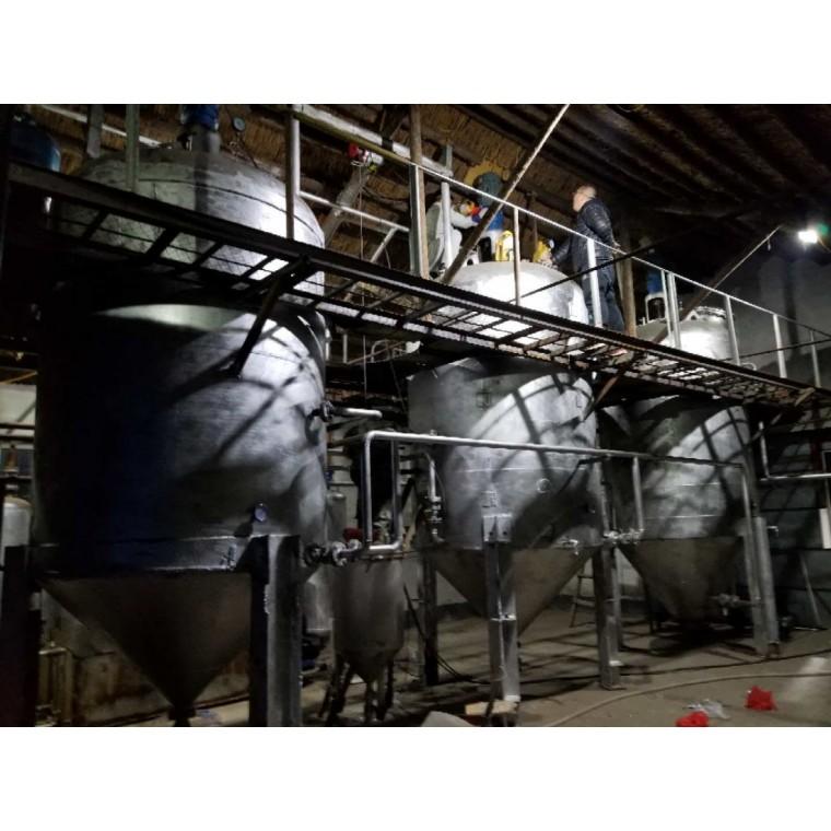 全自動高效循環生產廢機油再生設備