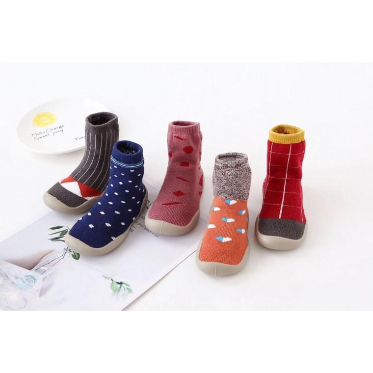 現貨特價熱銷防滑軟底透氣減震耐磨精梳棉地板襪
