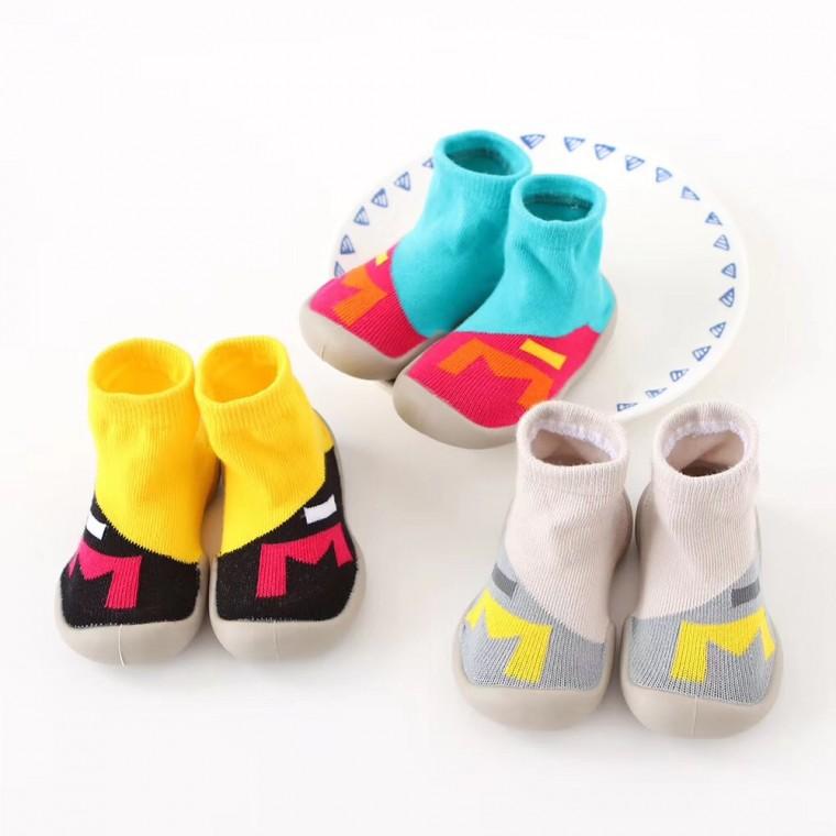 現貨特價熱銷防滑軟底透氣減震耐磨精梳棉地板鞋襪
