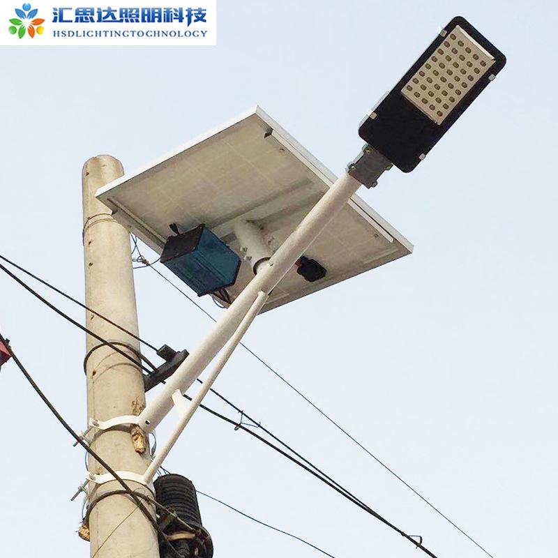 太阳能挑臂路灯3