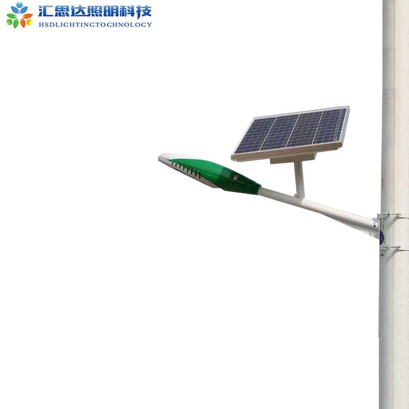 太阳能挑臂路灯5