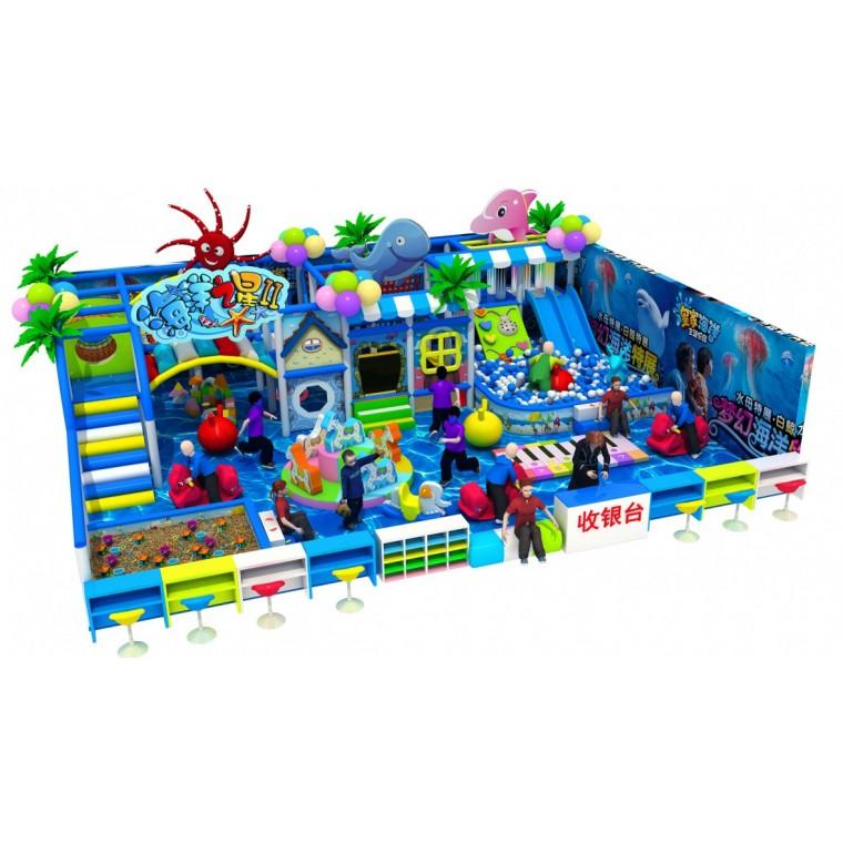 投资儿童游乐园需要多少资金 儿童室内游乐场