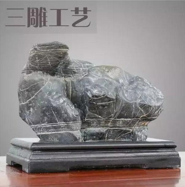 奇石三雕工艺