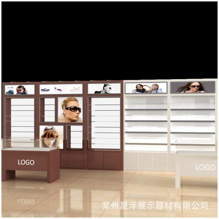 宝岛眼镜展柜
