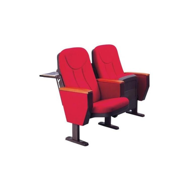 前后都可以帶寫字板的禮堂椅軟席排椅