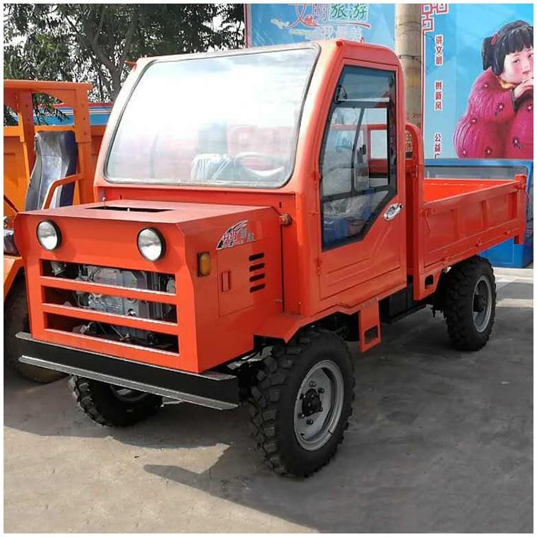 四轮驱动 农用自卸拖拉机 四不像小型四驱运输爬山王