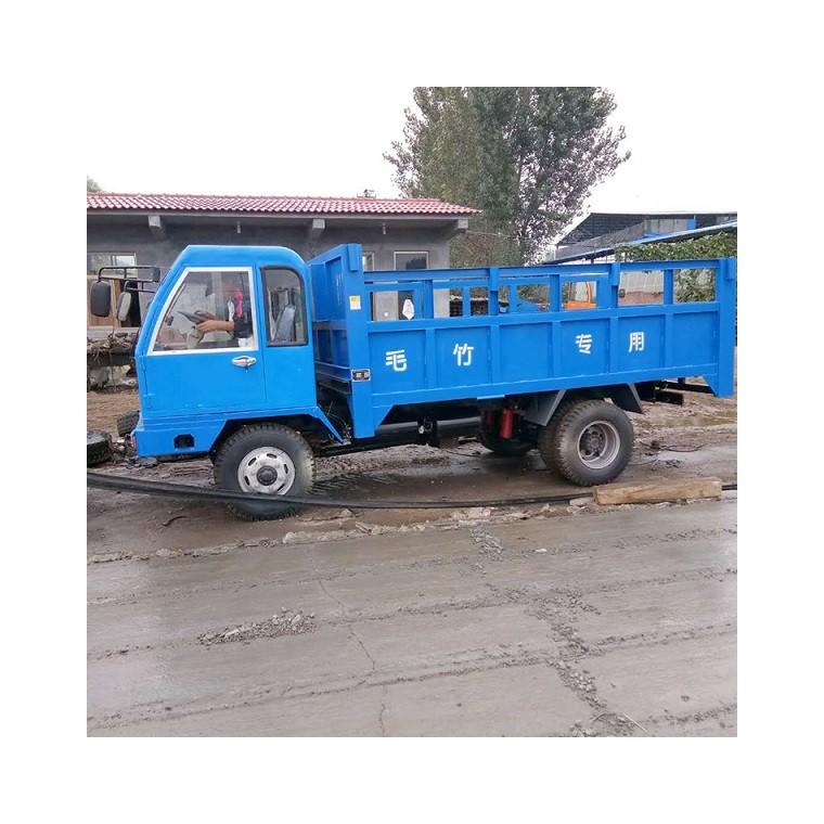 四不像农用10吨豪华驾驶室毛竹运输车 四驱农用自卸拖拉机爬山