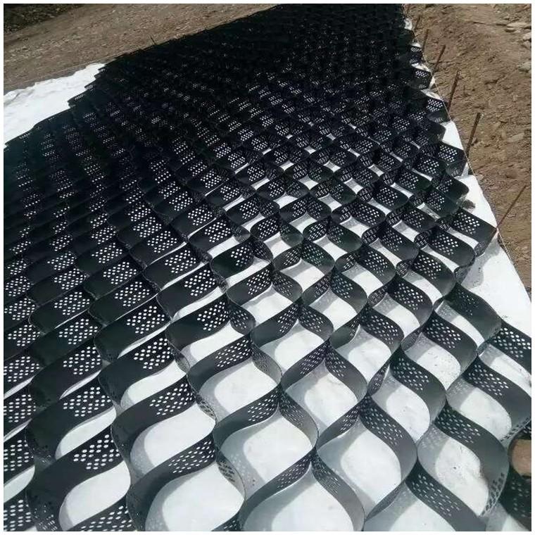 边坡固定蜂巢土工格室伸缩自如河道护坡护岸蜂巢约束系统