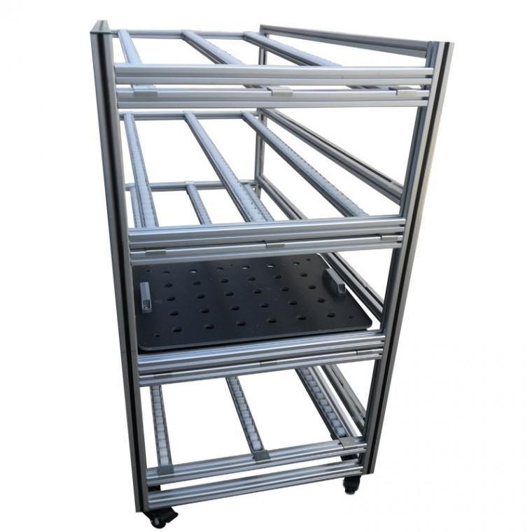 鋁型材流利條貨架