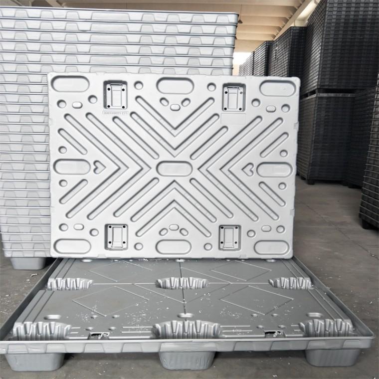 大型灰色1210塑料吹塑圍板