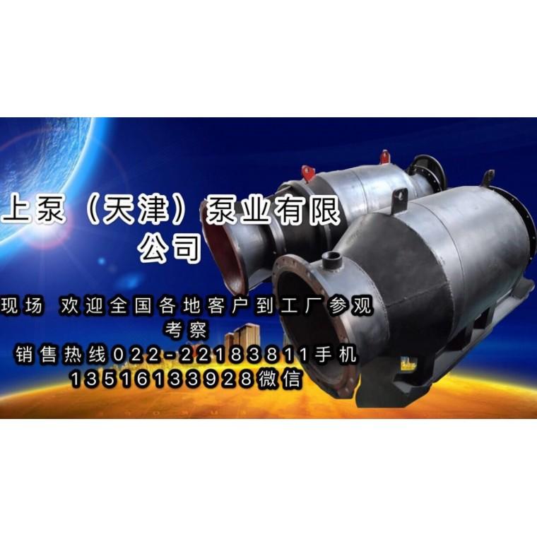 無阻塞雪橇式潛水軸流泵