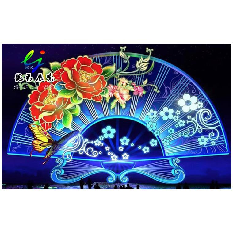 大型夢幻燈光節生產燈光節策劃公司