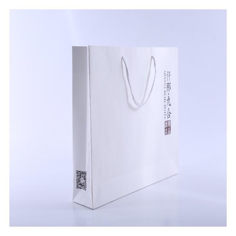 郑州手提袋,白卡彩印手提袋印刷,河南手提袋定制