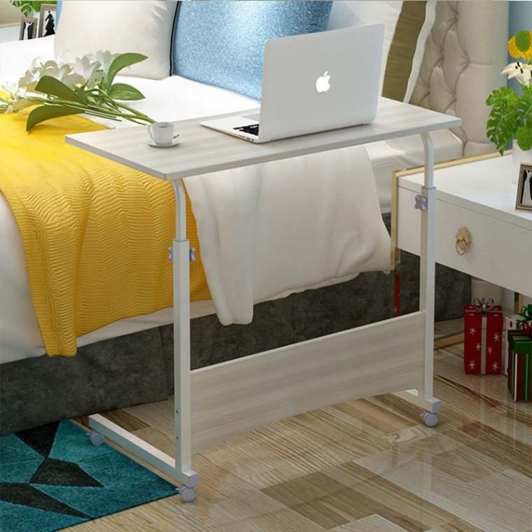 可升降可移動床邊桌