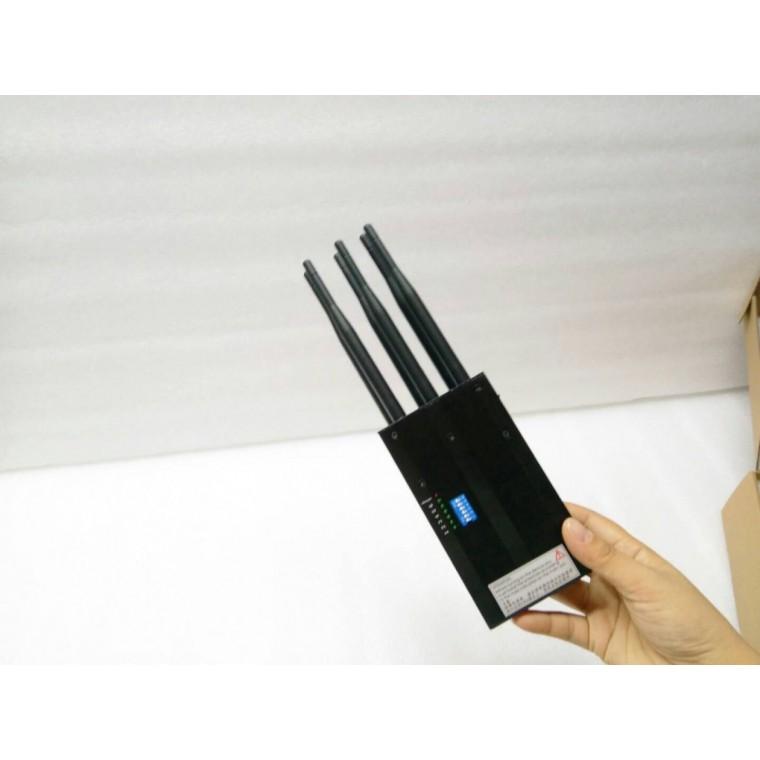 三合一GPS WiFi 4G手機屏蔽器 手持屏蔽器
