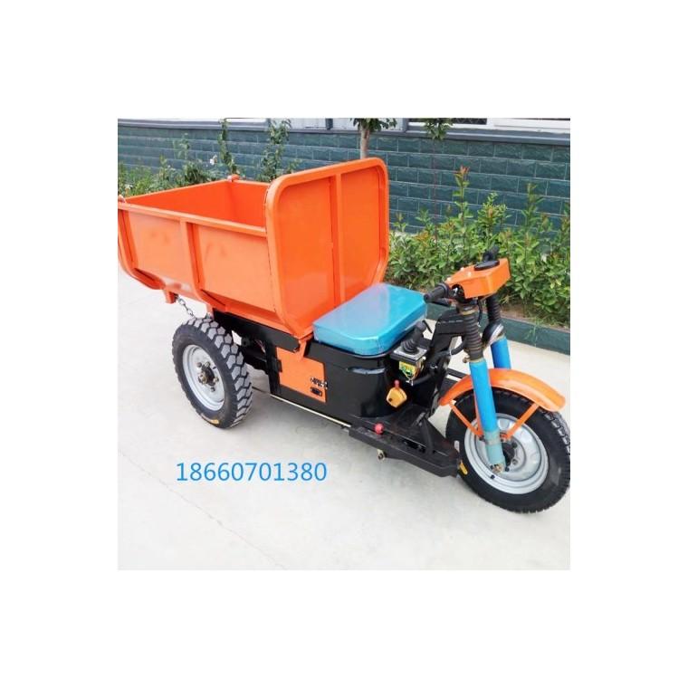 電動工程三輪車農用自卸式三輪車