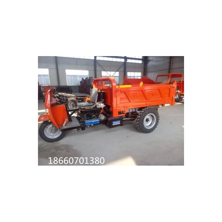 柴油農用三輪車廠家定做各種規格工程三輪車